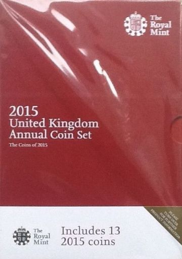 2015 Brilliant Uncirculated Coin Collection
